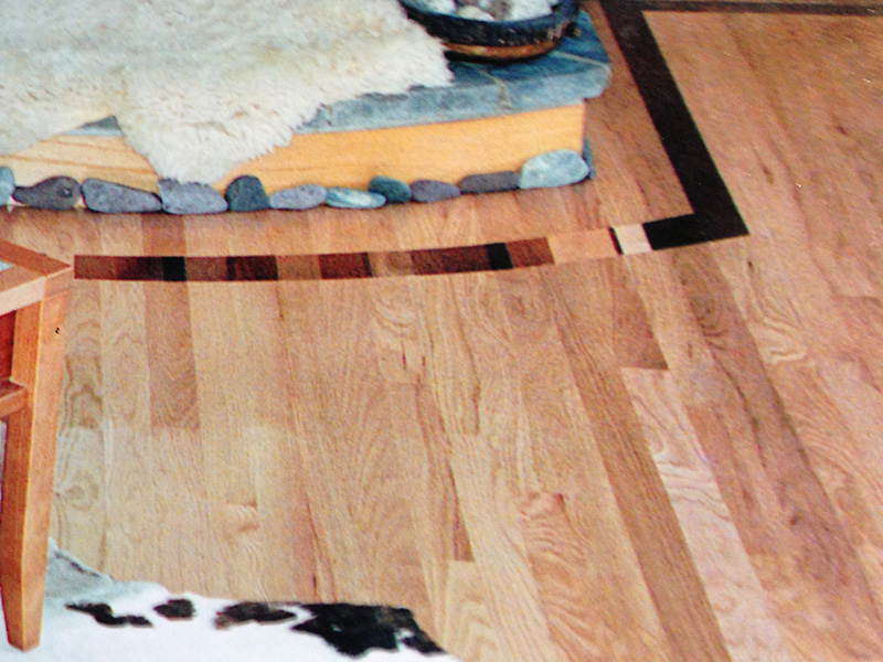 wood flooring inlay designs