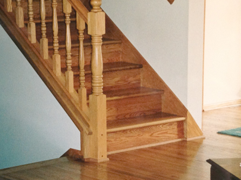 ... Hardwood Flooring For Stairs ...