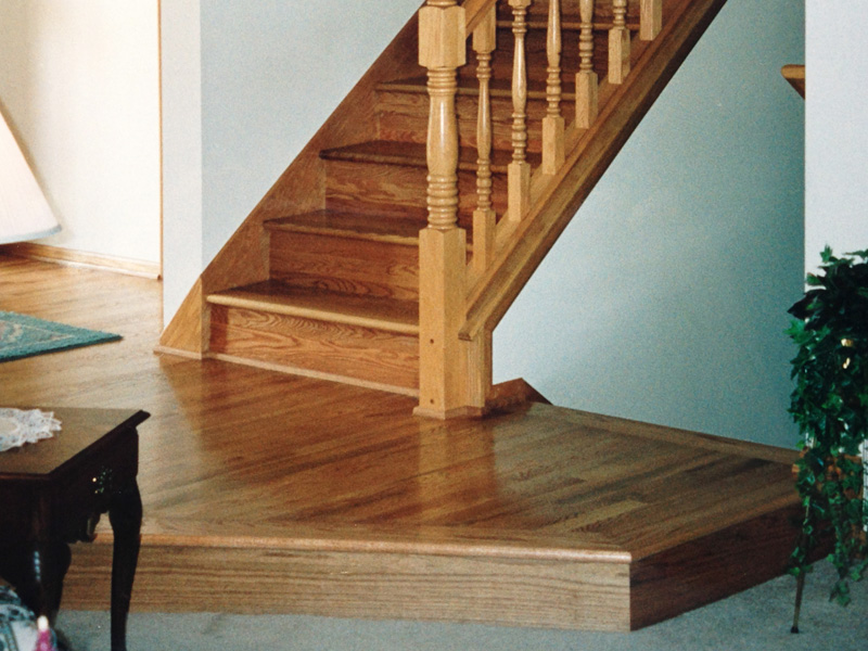 stair hardwood flooring