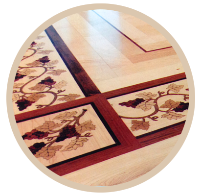 custom wood floor designs
